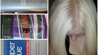 getlinkyoutube.com-How to: Bleach your roots, do a bleach wash and DIY no damage- toner