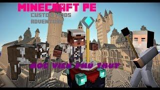 getlinkyoutube.com-Minecraft PE Custom Mods Adventure: Học viện phù thủy