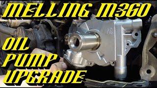 getlinkyoutube.com-Ford 5.4L 3v Engine Melling M360 Oil Pump Upgrade