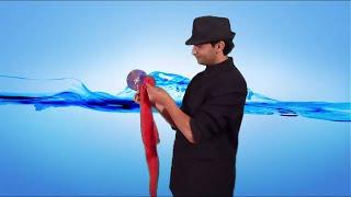 تعلم العاب الخفة # 314 Color Changing CD . magic trick width=