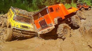 getlinkyoutube.com-RC Extreme Pictures — RC Cars OFF Road 4x4 Adventure – MUD Hummer vs Defender vs Beast 6x6