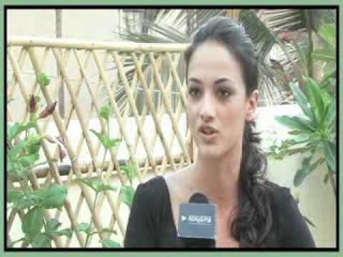 Angela Jonsson on Kingfisher Calendar 2011 Photoshoot - Bollywood Hungama Exclusive