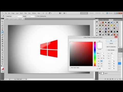 انشاء شعار ويندوز 8 create windows 8 logo