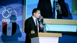 Shokran ya Ommy - باسم يوسف في احتفالية شكرا يا امي