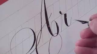 getlinkyoutube.com-How to Write Copperplate