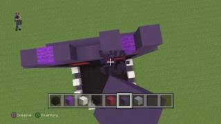 getlinkyoutube.com-Minecraft how to make withered bonnie FNAF Ep1