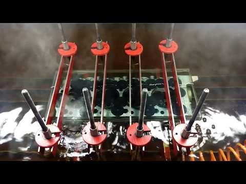 Опрессовка ГБЦ двигателя 4D56 (трещина у седла клапана)