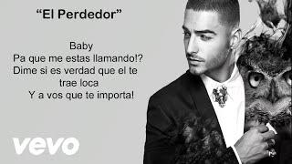 getlinkyoutube.com-Maluma - El Perdedor (Video con letra/lyrics-Activar Subtítulos ) Official Reggaeton