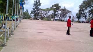 Gwaride la kuhitimu maafisa wanafunzi kundi la 54/13 kutoka Tanzania na DRC  Monduli Oktoba18, 2014,