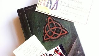 getlinkyoutube.com-Prescott Manor Charmed Book of Shadows unboxing