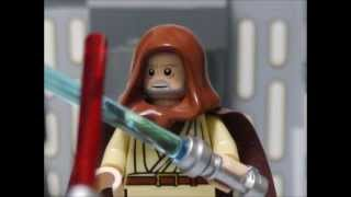 getlinkyoutube.com-LEGO STAR WARS EpisodeⅣ Obi-Wan Kenobi vs Darth Vader