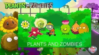 getlinkyoutube.com-Plants Vs Zombies Game - Plants vs Zombies 2 HD: Animation Garden Kombat Z Part 1