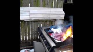 getlinkyoutube.com-Pissed off girlfriend burning boyfriend clothes