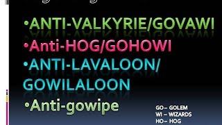 getlinkyoutube.com-TH9 ANTI 3 Star War Base (ANTI HOG, ANTI Valkyrie, ANTI LavaLoon, ANTI AQWalk) with Replay