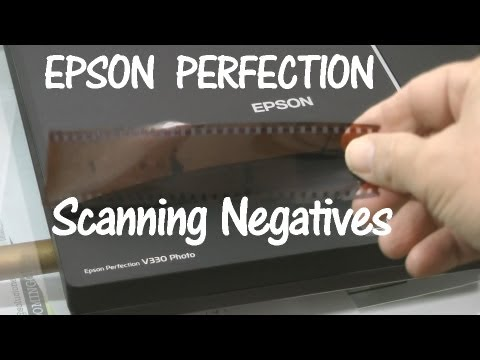 Epson Perfection V330 Scanning Negative Film Strips (How to)