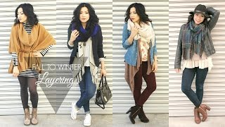 getlinkyoutube.com-FALL TO WINTER FASHION LOOKBOOK - Layering Outfits collab w/ Lexi Love    MISSYANYI