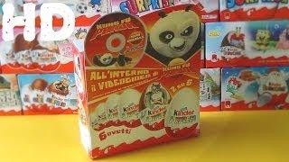 getlinkyoutube.com-Киндер сюрприз Панда кунг фу + диск коллекция 2009 ретро