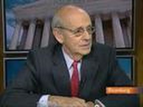 Breyer Says Supreme Court Neither Pro- Nor Anti-Business: Video