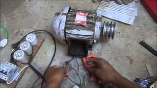 getlinkyoutube.com-Motor trifasico na rede monofasica