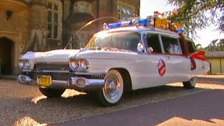 getlinkyoutube.com-Driving the Ghostbusters Ecto-1 #TBT - Fifth Gear