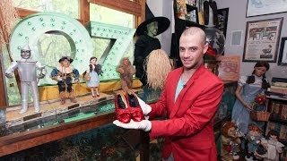 getlinkyoutube.com-Wizard Of Oz Collector: Super Fan Spends £120,000 On Memorabilia
