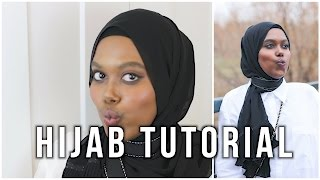 Everyday Simple Hijab Tutorial | I AM YASMIN
