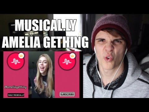 Amelia Gething Musical.ly Compliation Pt. 2 REACTION