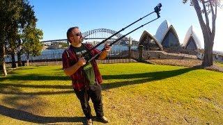 getlinkyoutube.com-Camera Jib Crane for GoPro, iPhone & Pocket Cam's - BoomBandit Review