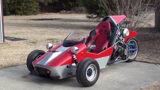 getlinkyoutube.com-Yamaha 600cc Reverse Trike Updated