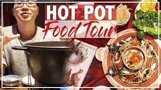 HOT POT FOOD TOUR In CHINA + Guiyang Local Cuisine | BEST Hot Pot In China 老外吃火锅