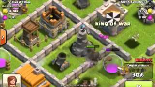 getlinkyoutube.com-Clash of clans bon village hdv 5