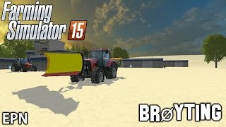 getlinkyoutube.com-Snøbrøyting | (Farming Simulator 15) | Kortfilm