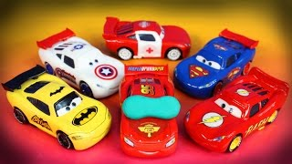getlinkyoutube.com-Disney Pixar Cars Lightning McQueen Dream 2 Mater Imaginext Batman Superman Toy Story Lotso Joker