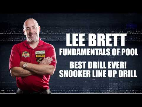 APA - Lee Brett Instructional Series - Snooker Line Up Drill