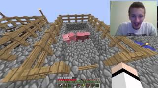 getlinkyoutube.com-Minecraft Sky House preživljavanje sa Edom #8 - Ženjemo životinje
