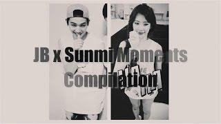 getlinkyoutube.com-JB (GOT7) and Sunmi Moments Compilation