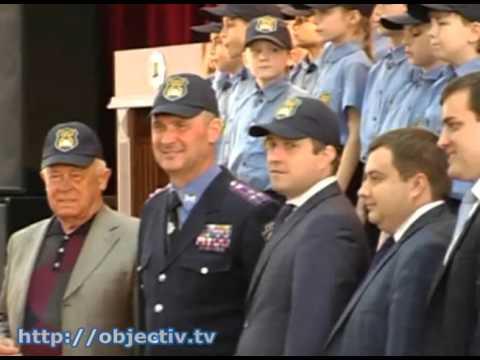 Как харьковских школьников принимали в «Кадеты полиции».