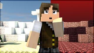 getlinkyoutube.com-Minecraft: VIAJANDO ENTRE O CÉU E O INFERNO!!!