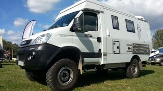 getlinkyoutube.com-Iveco Daily 4x4 Camper Offroad expedition