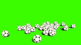getlinkyoutube.com-falling soccer balls down in green screen free stock footage