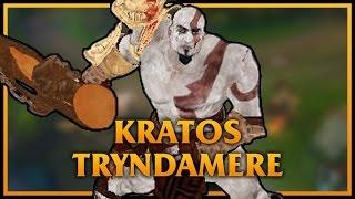 造型之夜-玩家自製蠻王造型-戰神:克雷多斯