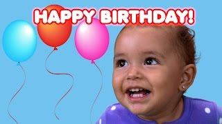 getlinkyoutube.com-Happy Birthday Ashlynn | Birthday Song | Kids Songs | Happy Birthday to You | FUNTASTIC TV