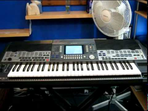 Yamaha PSR-9000 Demonstration Songs