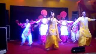 getlinkyoutube.com-Sansar Dj Links Phagwara With Bhangra Group