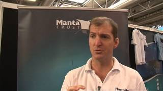 EXCLUSIVE: Scubaverse Interviews Guy Stevens from the Manta Trust at DIVE 2014