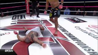 getlinkyoutube.com-Maximum Fighting Championships 38 Delivers with an Unbelievable Head Kick KO