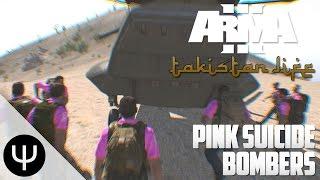 getlinkyoutube.com-ARMA 3: Takistan Life Mod — Pink Suicide Bombers!