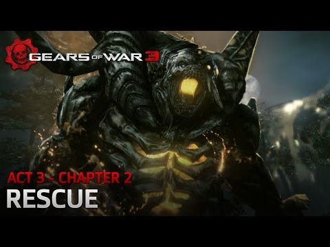 Gears of War 3 - Act 3 - Chapter 2: Rescue