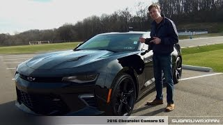 Review: 2016 Chevrolet Camaro SS (Manual and Auto)