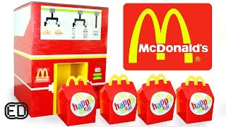 getlinkyoutube.com-The LEGO McDonald's Happy Meal Maker | Chicken Nuggets, Hamburgers & SURPRISE Toy